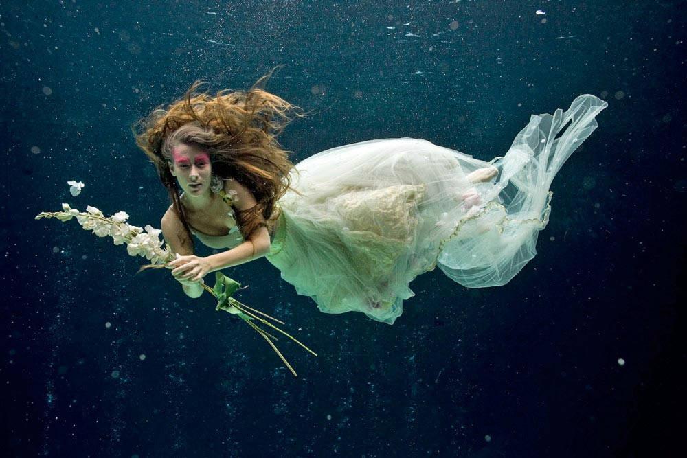 Underwater High Fashion Photography